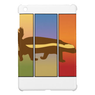 HONEY BADGER ART THREE PANEL SUPER SPECIAL COVER FOR THE iPad MINI