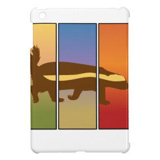 HONEY BADGER ART THREE PANEL SUPER SPECIAL COVER FOR THE iPad MINI