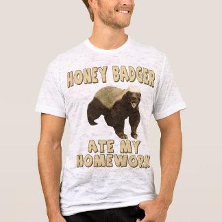Honey Badger Ate My Homework! T-Shirt