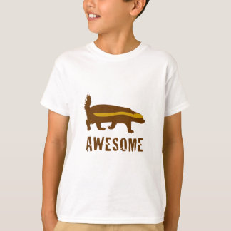 Honey Badger Awesome T-Shirt