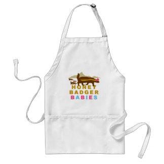 honey badger babies standard apron