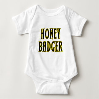 Honey Badger Baby Bodysuit