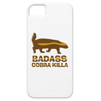 Honey Badger - Badass Cobra Killa iPhone 5 Cover