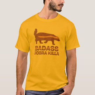 Honey Badger - Badass Cobra Killa T-Shirt