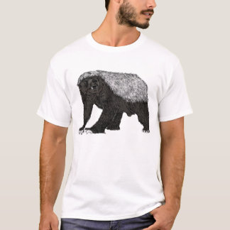 Honey badger baring it's teeth T-Shirt