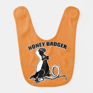 Honey badger bib