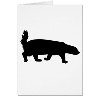Honey Badger Black Card