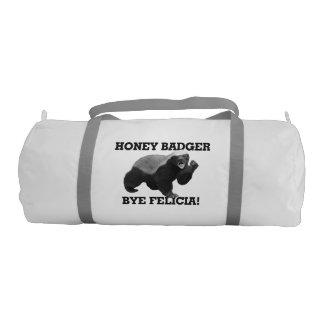Honey Badger Bye Felicia Gym Duffel Bag