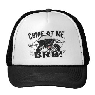 Honey Badger Cap