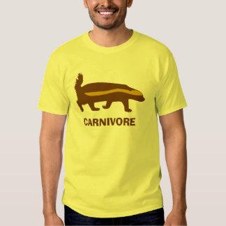 honey badger carnivore tshirt
