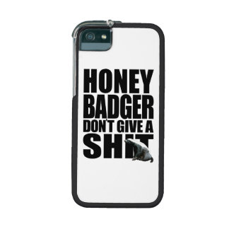 Honey Badger iPhone 5/5S Cover
