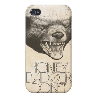 HONEY BADGER  CASE FOR THE iPhone 4