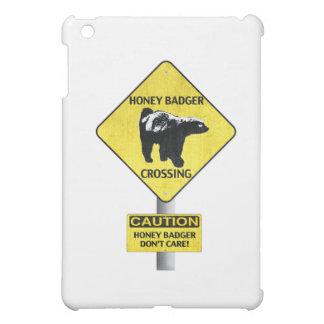 Honey Badger caution iPad Mini Cases