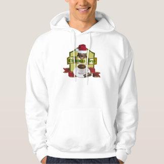 Honey Badger Christmas Blend Coffee Label Hoodie
