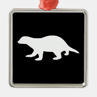 Honey Badger Christmas Ornament
