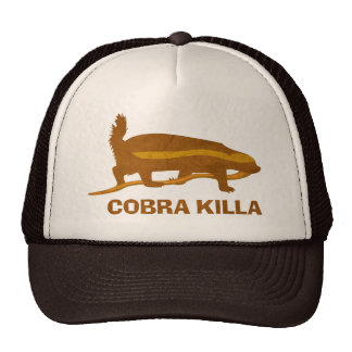 honey badger cobra killa trucker hat