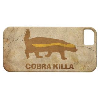 Honey Badger Cobra Killa Vintage iPhone 5 Covers