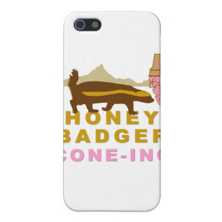 Honey Badger Cone-ing iPhone 5 Covers