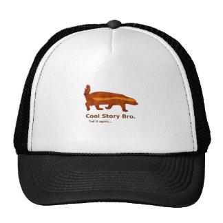 Honey Badger - Cool Story Bro. Tell it again... Mesh Hat