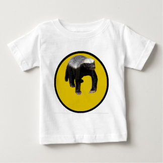 Honey Badger (Create Your Own Saying Below Him) Baby T-Shirt