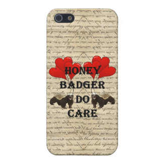 Honey badger do care iPhone 5 cases