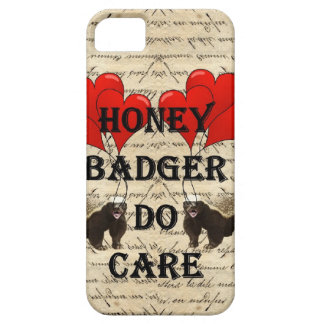 Honey badger do care iPhone 5 covers