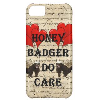 Honey badger do care iPhone 5C case