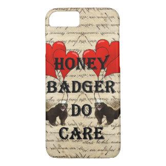 Honey badger do care iPhone 8/7 case