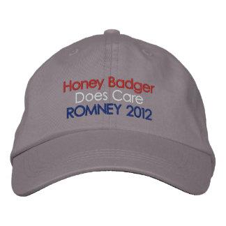 Honey Badger Does Care: Romney 2012 Embroidered Baseball Caps