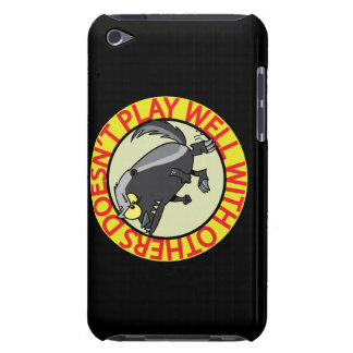 HONEY BADGER doesnt play well with others Barely There iPod Cases