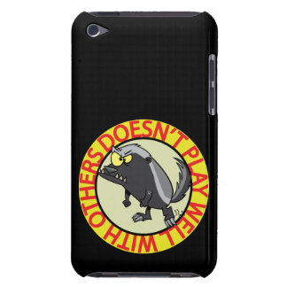 HONEY BADGER doesnt play well with others Case-Mate iPod Touch Case