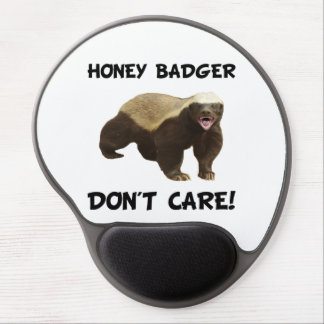 Honey Badger Don?t? Care Gel Mouse Pad