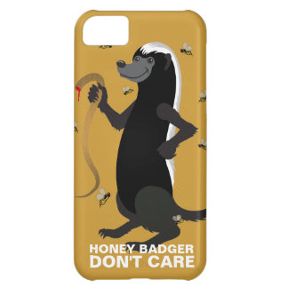 Honey Badger Don t Care iPhone 5C Cases