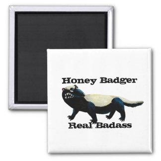 Honey Badger don t care Fridge Magnets