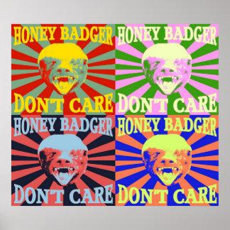 Honey Badger Don t Care Poster