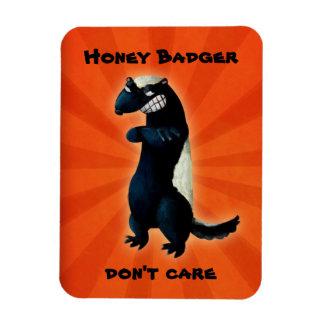 Honey Badger don t care Flexible Magnet