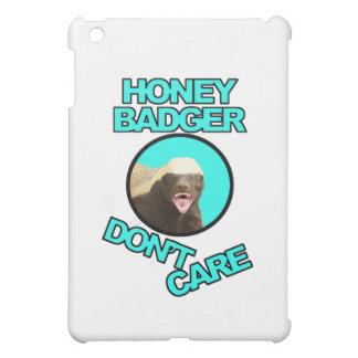 Honey Badger Don t Care Teal iPad Mini Case