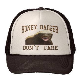 Honey Badger Don t Care Trucker Hat