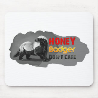 Honey Badger don't care 2012 new Mousepad