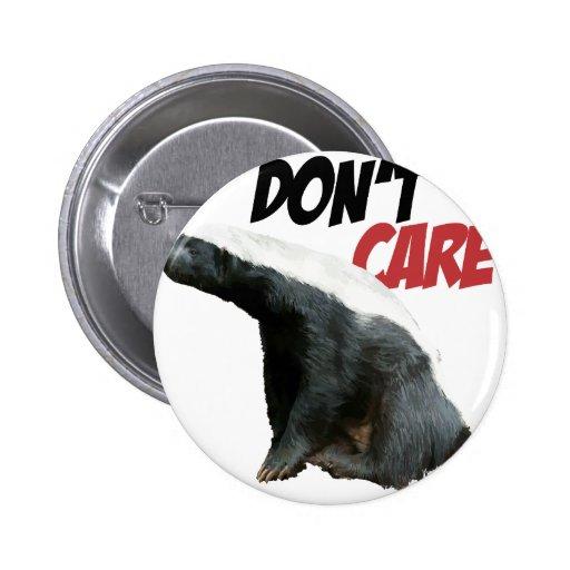 Honey Badger Don't Care 3 Pin