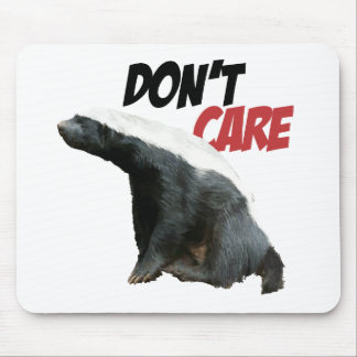 Honey Badger Don't Care 3 Mouse Pad