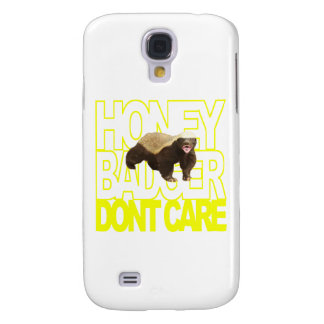 Honey Badger Don't Care Galaxy S4 Case