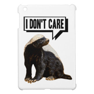 Honey Badger Don't Care Cover For The iPad Mini