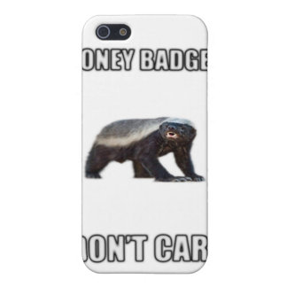 Honey Badger Dont Care iPhone 5 Cases