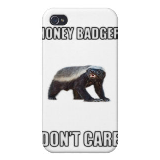 Honey Badger Dont Care iPhone 4/4S Covers