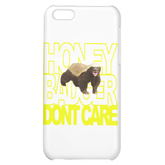 Honey Badger Don't Care iPhone 5C Case