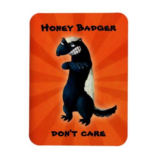 Honey Badger don't care! Flexible Magnet