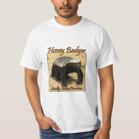 Honey Badger Facts Tee