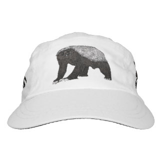 Honey Badger Fearless With Attitude Animal Design Hat