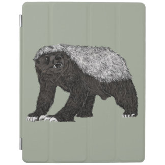 Honey Badger Fearless With Attitude Animal Design iPad Cover